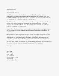 Letter Of Recommendation For Employee Sample Sample Reference Letter For An Employee