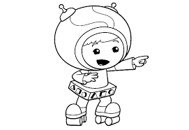 Small Picture Team umizoomi coloring pages