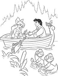 Small Picture Disney Princess Ariel And Eric Coloring Pages Rsad Coloring