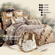 8 piece bedding sets luxury bedding set wedding duvet cover thicker bed sheet pillowcases fashion french