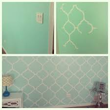 Mint Green Bedroom Accessories My Mint Green Bedroom Accent Wall Freehand Painting Diy