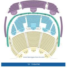 Cirque Du Soleil O Seating Chart Lasvegashowto Com