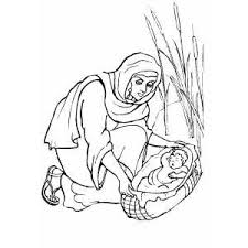 Small Picture Moses Baby Coloring Page