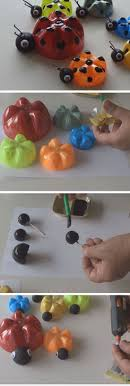 art and craft ideas for toddlers pinterest. ladybug\u0027s family from plastic bottles 18 diy summer art projects for kids to make easy toddlers and craft ideas pinterest