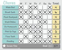 Solid Gray Customized Printable Chore Chart Behavior Chart Reward Chart Plain Editable Diy
