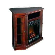 faux stone electric fireplace corner fireplaces stand elect