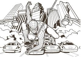Small Picture Amazing Spiderman Coloring Pages Cartoon Coloring pages of