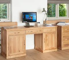 picture mobel oak large hidden office. Large Hidden Office Twin Pedestal Desk Mobel Oak Picture H
