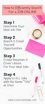 17 best images about job searching tips how to efficiently search for a job online list