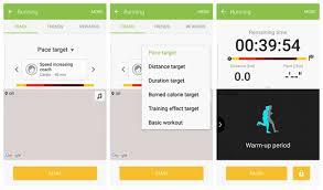 S Health Track Walking Running Data