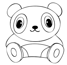 Small Picture Cute Panda Coloring Pages 1181