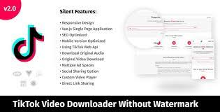 How to download tiktok videos without watermark? Free Download Tiktok Video Downloader Without Watermark Audio Extractor