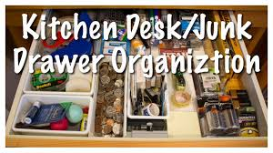 Kitchen Drawer Organization Kitchen Desk Junk Drawer Organization Kitchen Series 2013 Youtube