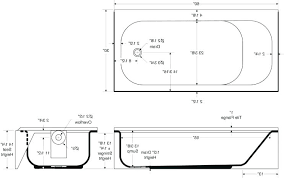 photo 1 of 8 common bathtub sizes standard dimensions tub length clawfoot vintage
