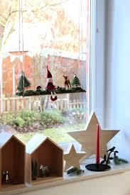 Diy Wichtelschaukel Als Weihnachtliche Fensterdeko