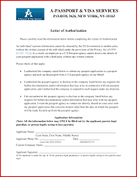 Sample Third Party Authorization Letter Resume Template