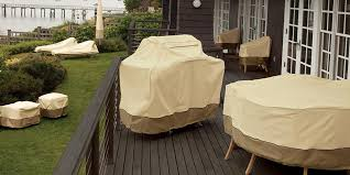 outdoor furniture covers ideal partner for keeping the furniture clean and elegant