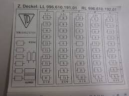 1997 vs 1999 fuse assignments diagrams porsche babblers 1999 boxster 2 5l