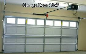 Exterior 16x7 Insulated Garage Door Weight Charming On Exterior