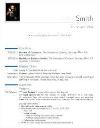 Resume Template Pdf Inspiration Sample Modern CV Template PDF Best Templates In 60 Pinterest