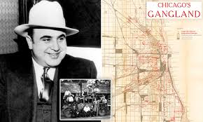 Current Chicago Outfit Chart Chicagos Gangland Empire Revealed In Detailed Map Daily