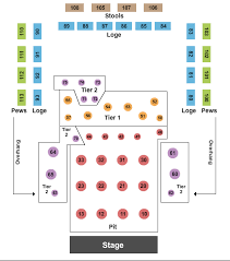 House Of Blues New Orleans Seating Chart Religious Music Tickets