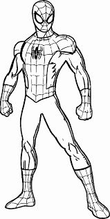 Get your free printable spiderman coloring pages at allkidsnetwork.com. Spiderman Coloring Pages For Kids Marvel Coloring Avengers Coloring Pages Superhero Coloring Pages