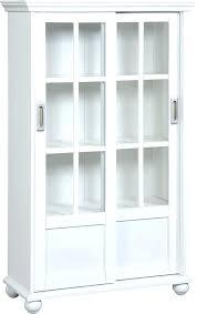 billy bookcase glass doors ikea black white inside with sliding gla
