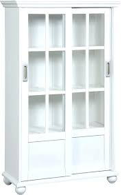 billy bookcase glass doors ikea black white inside with sliding gla