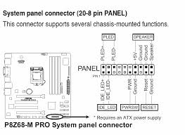 motherboard front panel connection diagram motherboard asus motherboard front panel connection diagram wiring diagrams on motherboard front panel connection diagram