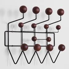 Black Wall Coat Rack George Nelson Hang It Black Wall Coat Rack wwwhayneedle For 64