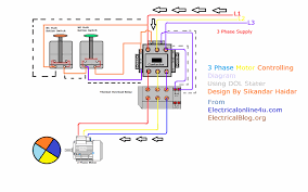 thermal overload relay wiring diagram diy wiring diagrams \u2022 Motor Contactor Wiring Diagram diagram 3 phase motor best of three phase wiring diagram motor rh seekplan info compressor relay wiring diagram contactor and thermal overload relay wiring