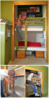 22 low budget diy bunk bed plans to upgrade your kids room beds with stairs fun built in tut