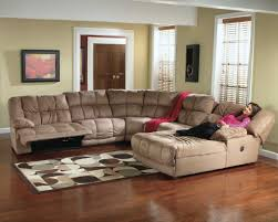 leather reclining sectional sofa with chaise sectional sofas with recliners and chaise 6 foot