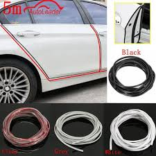 univeral 5m car door edge guards trim with a ser blade molding protection strip scratch protector