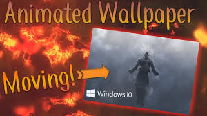 How To Get Animated/Moving Wallpapers ...