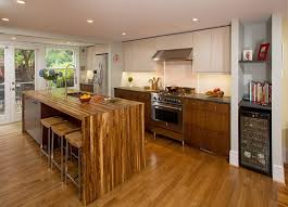 Design House Kitchens Inspiration Walnut Waterfall Island Dupont Row House Kitchen Landis Construction