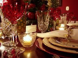 Christmas Table Setting Williamsburg Christmas Table Setting With Apple Tree Centerpiece