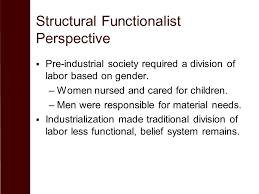Conflict Perspective     Continued domination by males requires a belief system that supports gender inequality  SlidePlayer