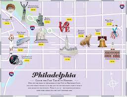 philadelphia tourist attractions map