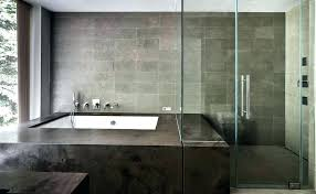 tiled shower enclosures stalls bathroom modern with enclosure minimal image by studio architecture tile stall cost