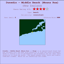 Dunedin Middle Beach Moana Rua Surf Forecast And Surf