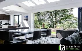 Living Room Extension Kitchen Dinner Living Extension With Bifolding Doors Google
