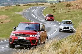 Coupe Series bmw x5 vs range rover sport : Range Rover Sport SVR vs BMW X5 M and Alpina XD3 Biturbo | Autocar