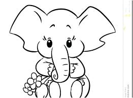 Elephant Coloring Pages Printable Anneliesedalabaorg