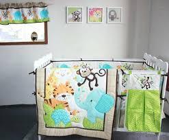 cute boy crib bedding sets jungle baby boy elephant bedding cute baby boy bedding sets