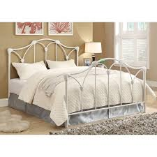 white metal queen bed. Modren Queen Coaster Company Scarlett Metal Queen Bed White Throughout Bed O