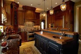 Two tone cabinets Wood Two Tone Kitchen Cabinets Add Dramatic Effect To Traditional Design Morris Black Kitchen Two Tone Kitchen Cabinets Morris Black Designs Morris Black