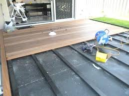 floating deck over concrete patio floating deck over flat roof stupefy how to build a concrete