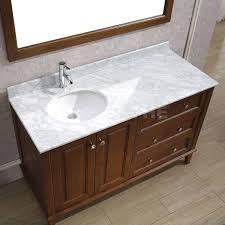 art bathe lily 55 classic cherry bathroom vanity solid
